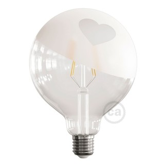 LED Globe G125 Tattoo Lampe Herz 4W