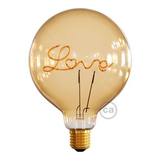 Goldene LED G125 LOVE