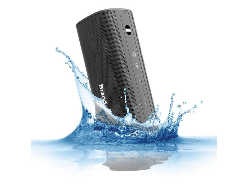 "Bluetooth Lautsprecher ""WaterProof"" schwarz 20W Outdoor"