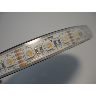 LED flexibler Strip, RGBW, IP67, CRI 90, 23W/m, 72 LED/m, 5 Meterrolle