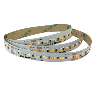 Flexibler LED Strip Dim to Warm, 24V CRI>90