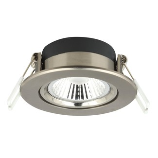 LED Downlight Nickel 6W, dimmbar