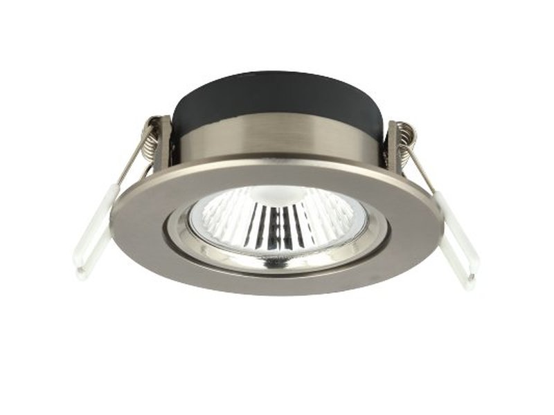LED Downlight Nickel 6W, dim to warm