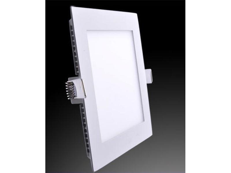 led panel einbau quadratisch 18w deckenleuchten art of led. Black Bedroom Furniture Sets. Home Design Ideas